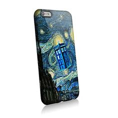 Tardis Doctor Who Starry Night for Iphone and Samsung (iphone 6 plus)