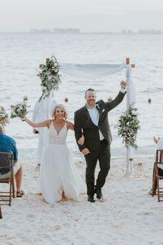 Beach wedding, Isla Mujeres Mexico, SunHorse Wedding Design, destination wedding Bridal Dresses, Wedding Gowns, Island Beach, Bridal Looks, Wedding Designs, Night Life, Destination Wedding, Dream Wedding, Mexico