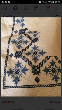Tiny Cross Stitch, Cross Stitch Borders, Cross Stitch Charts, Cross Stitch Designs, Cross Stitch Patterns, Hardanger Embroidery, Cross Stitch Embroidery, Hand Embroidery Design Patterns, Baby Frocks Designs