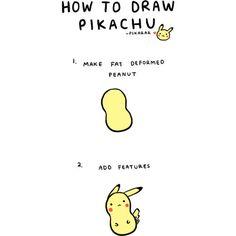 Kawaii Doodles | How to draw Pikachu <3