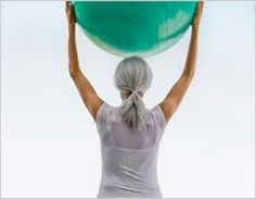 Good exercises for home using resistance bands & stability ball