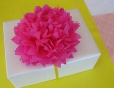 Tissue Flower by angela