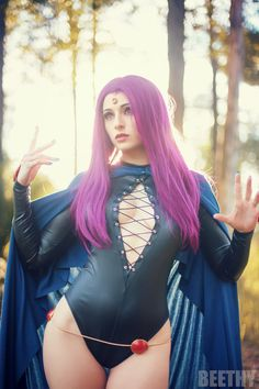 Teen Titans - Raven -01- by beethy.deviantart.com on @DeviantArt