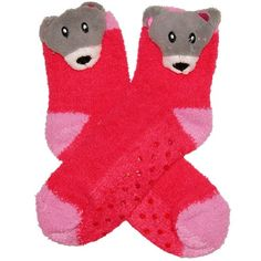 RSG Girls & Women's Animal Non Skid Slipper Socks (Solid Bear) RSG http://www.amazon.com/dp/B00H30D9LM/ref=cm_sw_r_pi_dp_3shcwb03B1YBP