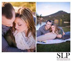 Evergreen Lake House Picnic, Wine and Sushi Engagement Session