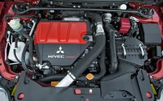 mitsubishi lancer evolution xi engine turbo