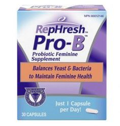 The product's official presentation states that the probiotic is recommended by gynecologists due to its ability to reduce the risk of suffering from yeast infections.