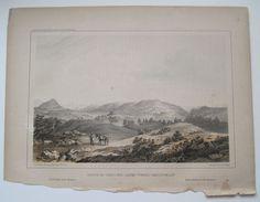 Sangre De Cristo Towards San Luis Valley CO 1855 USPRR RR Railroad Survey Litho. #Realism