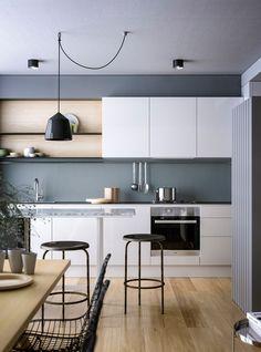 Gallery of Apartment H+M / destilat - 2