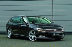More power for the new Volkswagen Passat, from B & B