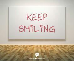 Keep Smiling Art