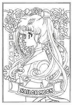 Interesting Sailor Moon Coloring Page Colouring Pages - coloringpage Sailor Moon Coloring Pages, Fairy Coloring Pages, Disney Coloring Pages, Mandala Coloring Pages, Adult Coloring Pages, Coloring Books, Sailor Moon Quotes, Sailor Moon Cat, Sailor Venus