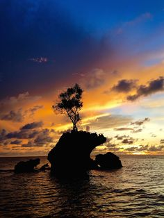 Sunset at Pulau Tiga Survivor Borneo Survivor Island