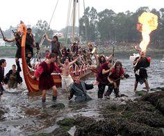Viking landings Catoira