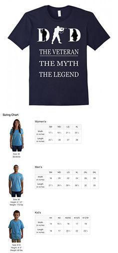 Mens Veteran dad T-shirt Gift for father's day tshirt Medium Navy