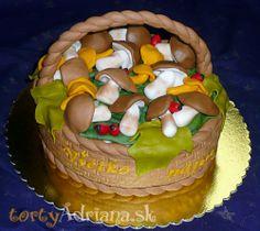 Torty » Torta Torta košík s hubami