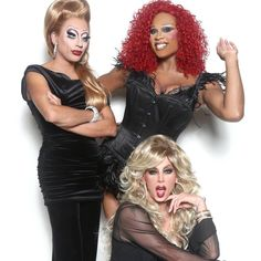 Bianca Del Rio, Peppermint and Sherry Vine
