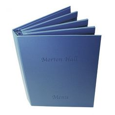 London Buckram Menu Covers - The Smart Marketing Group - Hospitality