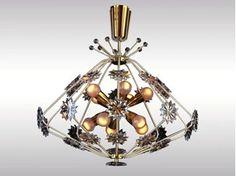 Classic style chandelier SNOWFLAKE - Woka Lamps Vienna
