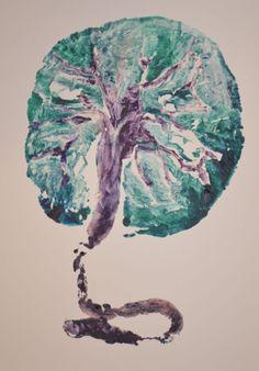 Placenta Art:  Tree of Life