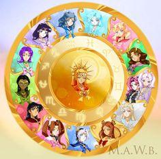 Sailor Zodiac Wheel by Drachea Rannak