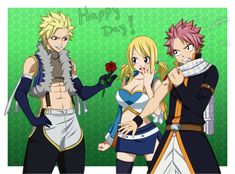 One for two?! StingXLucy - Natsu jealous - FT by Timagirl on DeviantArt