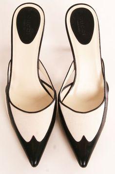 Tuxedo heels