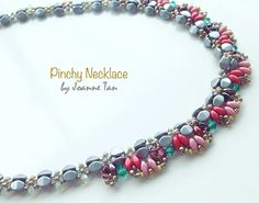 Pinch beads and SuperDuos necklace