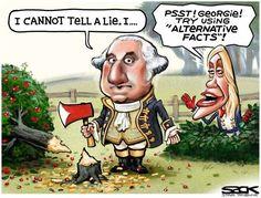 Political Cartoons of the Week: Kellyanne's Alternative Facts