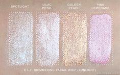 elf shimmering facial whip - Google Search