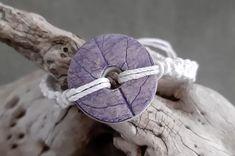 Bracelet eco-responsable Basilic Washer Necklace, Bracelet, Jewelry, Jewerly, Jewlery, Wristlets, Schmuck, Bracelets, Jewels