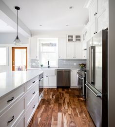 Kitchen renovation by Madeleine Design Group in Vancouver, BC. *Re-pin to your own inspiration board*