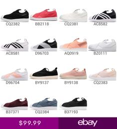 adidas Originals Superstar Slip On W Strap Womens Men Shoes Sneakers Pick 1 67fd0c1bd2