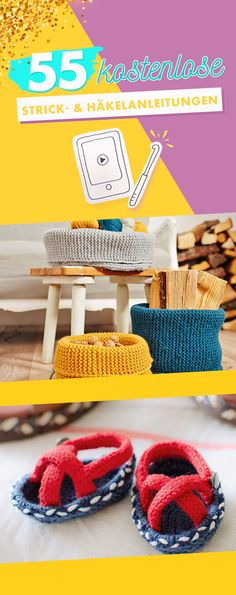 Makerist 55 kostenlose strick und häkelanleitungen pin Makerist 55 Free Knitting and Crochet Tutorials If you have the basics, you can continue with these simple instructions … Free Knitting, Baby Knitting, Crochet Baby, Free Crochet, Knit Crochet, Knitting Patterns, Crochet Patterns, Crochet Pullover Pattern, Crochet Simple