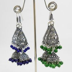 http://www.mirraw.com/designers/mk-jewellers/designs/antique-oxidised-pendant-tokri-earring-combo-jhumka--6