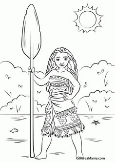 princess moana disney coloring pages printable and coloring book to print for free. Find more coloring pages online for kids and adults of princess moana disney coloring pages to print. Free Disney Coloring Pages, Valentine Coloring Pages, Disney Princess Coloring Pages, Disney Princess Colors, Disney Colors, Coloring Pages For Girls, Cartoon Coloring Pages, Coloring Pages To Print, Coloring Book Pages