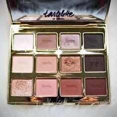The Tartelette in Bloom Palette!  Used this in my last makeup tutorial. Watch here: https://youtu.be/6Q0i94xhYGk .................#Tarte #Tartelette #Makeup #Cosmetics #Tarteletteinbloom #Tarteist #Neutrals #Warmtones #Mattes #Shimmers #Gold #BeautyVlogge