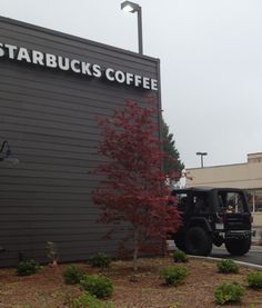 Starbucks, tattoos, jacked up Jeep, steel tank in the back seat... A thousand times yes.