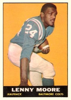 topps football cards lenny moore | name on card lenny moore card number 2 year…