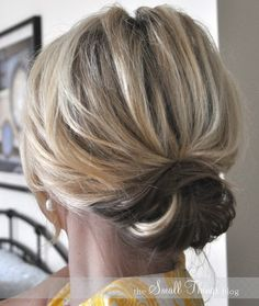 10 Updo Hairstyles for Short Hair - Easy Updos for Women - Pretty Designs