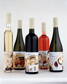 A very creative wine packaging....