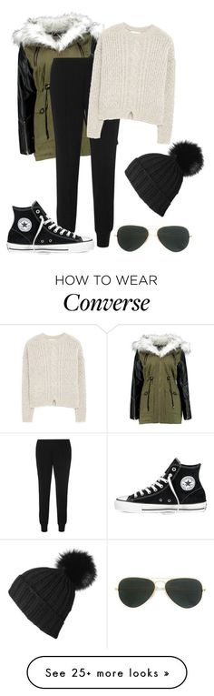 """How i want to dress tomorrow."" by crazygirlandproud on Polyvore featuring moda, Ray-Ban, Vince, Converse, MANGO y best"
