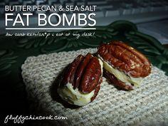Butter Pecan Fat Bombs