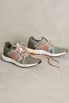Adidas by Stella McCartney Via Sneakers Mint Sneakers #anthrofave