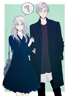 Haikyuu||| Lev and Alisa Haiba :3