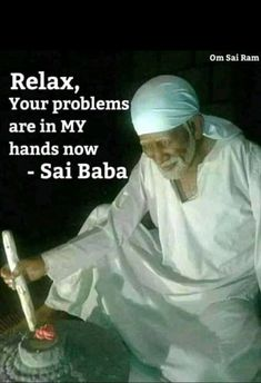 Spiritual Religion, Spiritual Quotes, Shirdi Sai Baba Wallpapers, Nice Meeting You, Sai Baba Pictures, Sai Baba Quotes, Baba Image, Sathya Sai Baba, Inspirational Prayers