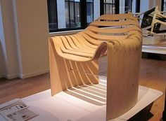 Made from a Single Piece of Plywood, This Chair Redefines Simplicity : TreeHugger