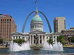 St. Louis is known for its spectacular Gateway Arch, in the Jefferson National Expansion Memorial, which was built in 1965 and has dominated the St. Louis skyline ever since.