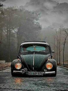 Volkswagen – One Stop Classic Car News & Tips Van Vw, Kdf Wagen, Vw Vintage, Photo D Art, Vw Cars, Car Photography, Vw Beetles, Supercars, Custom Cars