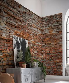 Look at this Brewster Home Fashions Bricklane Wall Mural on #zulily today!